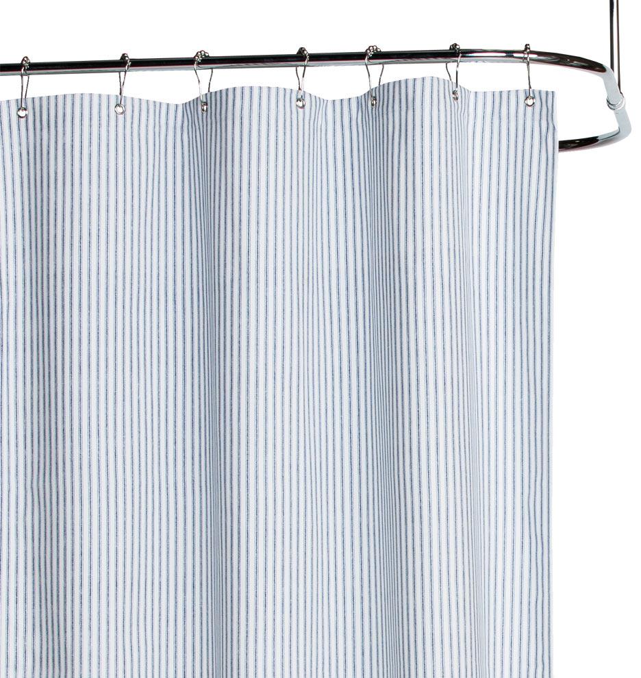Corner Window Curtain Rod Connector Rubber Duck Shower Curtain