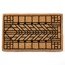 Craftsman Arrow Windowpane Doormat