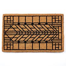 Craftsman Arrow Windowpane Doormat