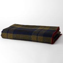 Faribault Shadow Plaid Blanket