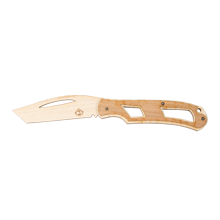 Single-Blade Tactile Wooden Toy Knife Kit