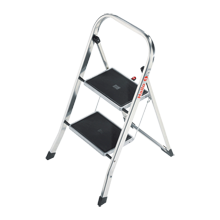 Hailo 2-Step Aluminum Step Ladder