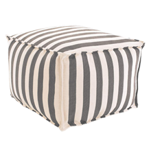 Trimaran Stripe Indoor/Outdoor Pouf