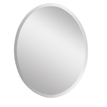 Frameless Oval Mirror, Small