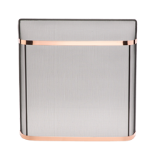 Fireplace Spark Guard - Polished Copper