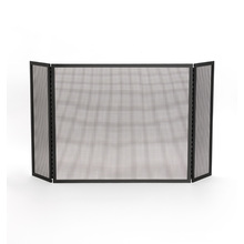 Tri-Fold Fireplace Screen - Small