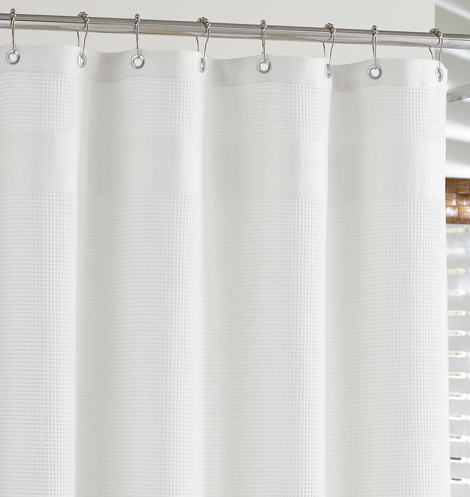 5 results found white waffleweave shower curtain