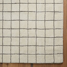 Windowpane Wool Rug