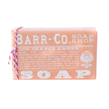 Barr-Co. Soap, Blood Orange Amber