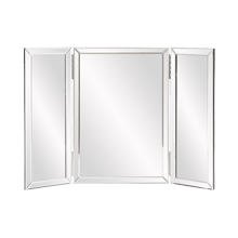 Frameless Folding Vanity Mirror
