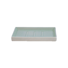 Shell Bisque Soap Dish - Seafoam