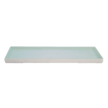 Shell Bisque Tray - Seafoam