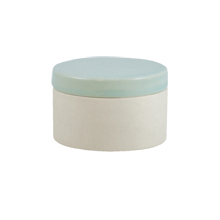 Shell Bisque Short Canister - Seafoam