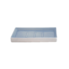 Shell Bisque Soap Dish - Blue