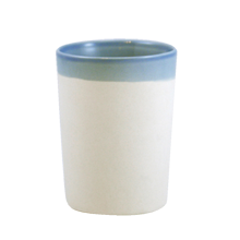 Shell Bisque Tumbler - Blue