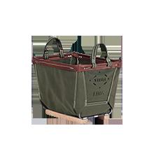 1 Bushel Steele Canvas Basket
