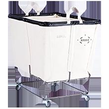 6 Bushel Canvas 3-Section Laundry Bin