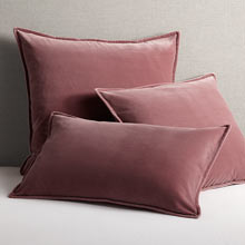 Italian Velvet Pillow Cover - Canyon Rose