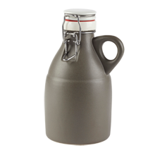 Gray Ceramic Growler - 32-Ounce