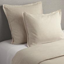 Belgian Flax Linen Duvet Cover & Shams - Natural
