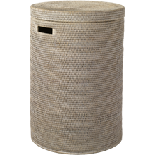 Large Rattan Hamper