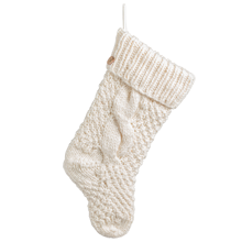 Chunky Knit Stocking - Ivory