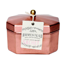 Homestead Tea Tin Candle, Sachet