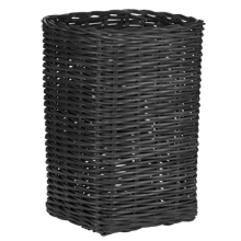 Rectangular Rattan Laundry Hamper