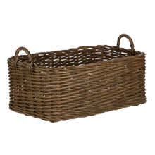 Rectangular Rattan Basket
