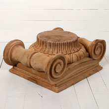 Carved Ionic Capital, c1880s