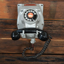"""Explosion Proof"" Telephone for Hazardous Locations, c1960"