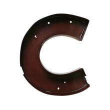 Maroon Enamel Letter C C1950