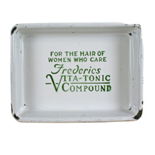 Frederics Vita-Tonic Compound Enamel Tray C1931