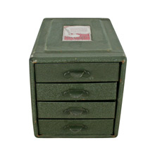 New Old Stock Green File Away Cabinet C1940