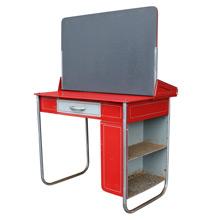 Convertible Children's Desk W/ Chalkboard by Lewytoy C1950