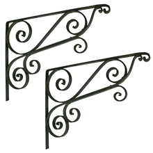 Enormous 25in. Iron Brackets C1900