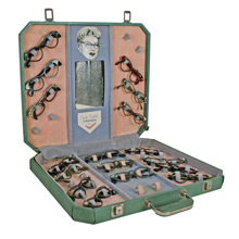 Rare and Remarkable Flairspecs Glasses Display C1955