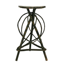 Primitive Hickory Side Table C1930