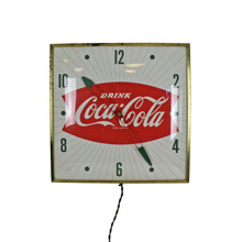 Iconic Coca Cola Wall Clock C1955