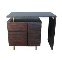 Milo Baughman Style Mid-Century Swivel Desk C1958