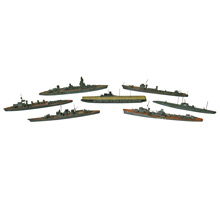 Japanese Naval Fleet Folk Art Souvenirs C1948