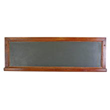 Classic Slate Chalkboard W/ Oak Frame C1935
