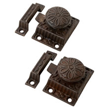 Pair of Eastlake Cupboard Latches C1880
