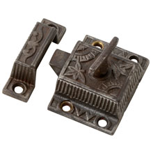 Aesthetic T-Handle Cupboard Latch, c1885