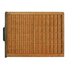 Industrial Oak Type Tray C1920