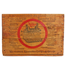 Oliver Typewriter Company Crate C1915