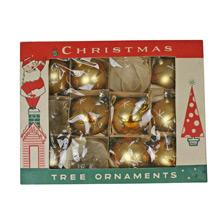 Set of Fantasia Brand Tree Ornaments W/ Original Box C1945