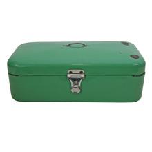Mint Green Porcelain Enamel Carrying Case C1925