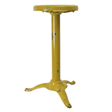 Bright Yellow Tripod Stool C1940