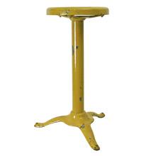 Bright Yellow Tripod Stool C1940